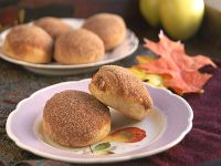 Yeasted Spice Doughnuts Filled With Cider Jelly