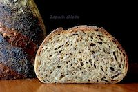Sourdough Bread With Caramelized Leeks And Grains