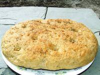 Garlic Oregano Focaccia (Vegan)