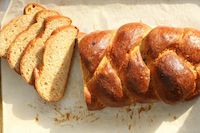 Whole Wheat Challah With Apricots
