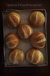Soft Pretzel Sandwich Rolls/ Buns