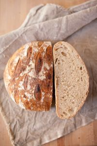 Millet And Whole Wheat Sourdough