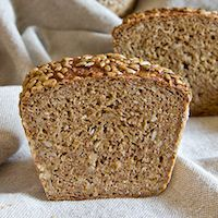 German Whole Grain Spelt Braid