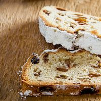 Christmas Stollen From The Ore Mountains
