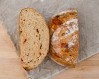 Roasted Red Pepper & Parmesan Sourdough