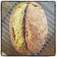 Winter Squash And Whey Bread