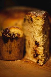 Chocolate Panetton Brioche With Natural Leaven