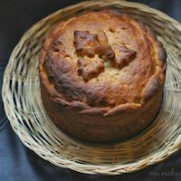 Eggless Slovak Easter Bread - Paska
