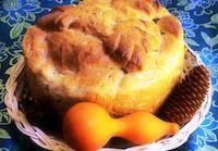 Eggless Slovak Paska Bread