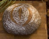 Pain Au Levain With Barley Flakes