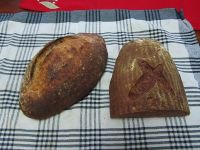 Holiday Wheat Levain With A Hint Of Rye