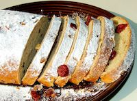 Whole Wheat Christmas Stollen