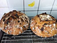 Cinnamon And Raisin Levain