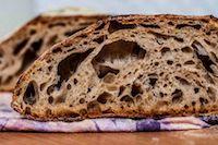 No-Knead Sourdough With Old Dough