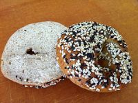 Sesame Wholewheat Sourdough Bagel