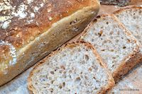 Bread With Wheat Grain