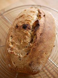 Black Garlic And Potato Sourdough Bread