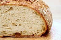 White Bread And Pizza With 80% Biga