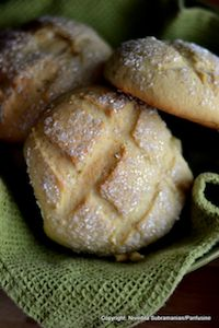 Japanese Melon Pan Bread