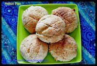 Eggless Melon Pan