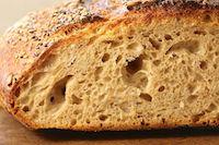 Spelt Whole Wheat Sourdough Bread