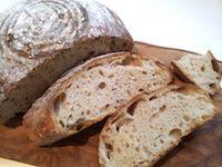 Sourdough Spelt And Wheat Bread
