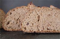 Ninety-five Percent Whole Grain Sourdough