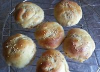 Wheat Buns With Oat, Macadamia, Pineapple Filling