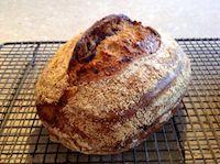 Walnut And Raisin Sourdough Loaves