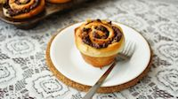 Chocolate Swirl Babka Muffin Buns