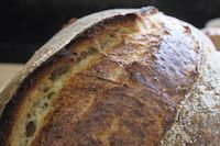 My Sourdough Bread With A Young Levain