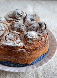 Eggless Italian Rose Cake