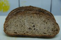 70% Wholewheat With BLACK BEANS