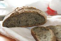 Sesame Semolina Tartine Loaf
