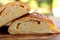 Crusty Cheese And Onion Bread