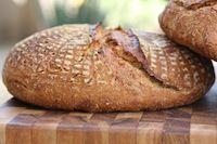 Rustic White, Rye, And Wheat Sourdough