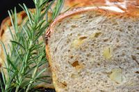 Sourdough Bread With Roasted Potatoes And Rosemary
