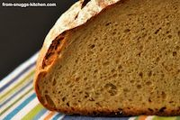 Kamut Rye Bread With Carrot