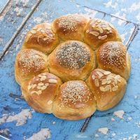 Enriched Eggs & Grains Challah