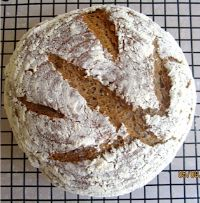 Einkorn Walnut Yogurt Bread