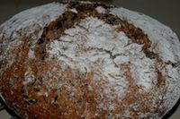 Sourdough Loaf With Wild Rice
