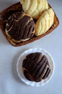 Eggless Conchas