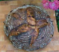 Roasted Corn & Red Peppers Sourdough