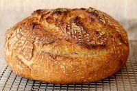 White, Rye, And Whole Wheat Sourdough