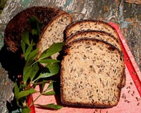 Polish Bread With Kefir And Flaxseeds