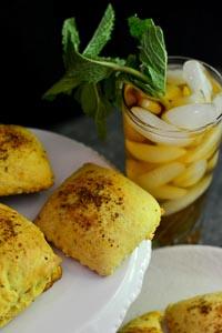 Komaj (Persian Date Bread With Turmeric & Cumin)