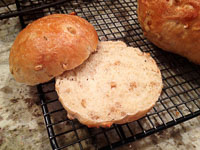 Wheat Berry Caraway Bread