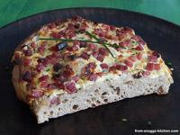 Hessian Bacon Flatbread