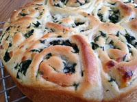 Greek Spinach Feta Rolls