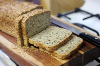Oats And Seeds Sourdough Bread